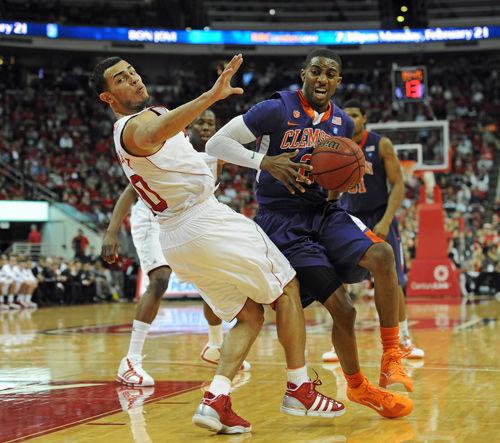 Clemson still has eyes on NCAA tournament as season winds down
