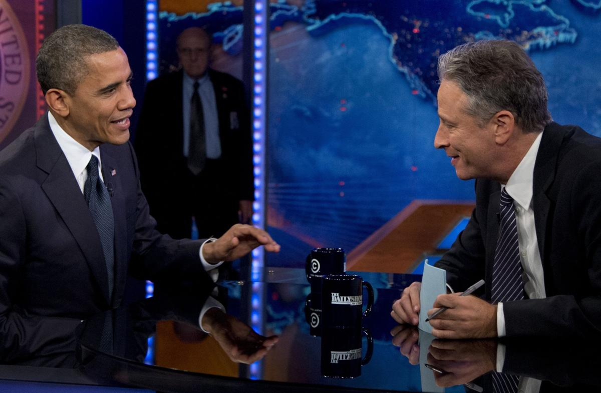 Obama to appear on 'The Daily Show' as Stewart nears end