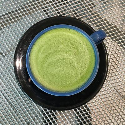 matcha latte drip on main