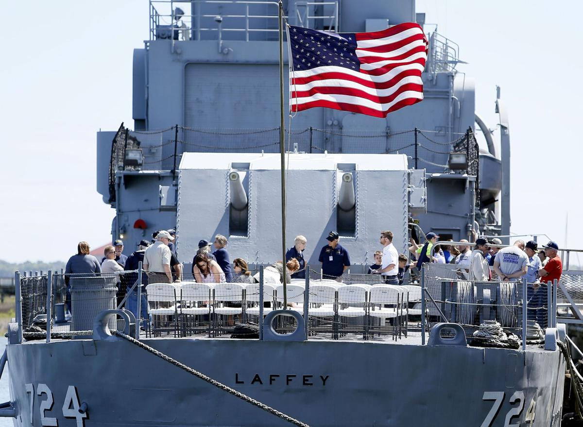 Grapevine: Yorktown, Laffey gunning for top museum ship status