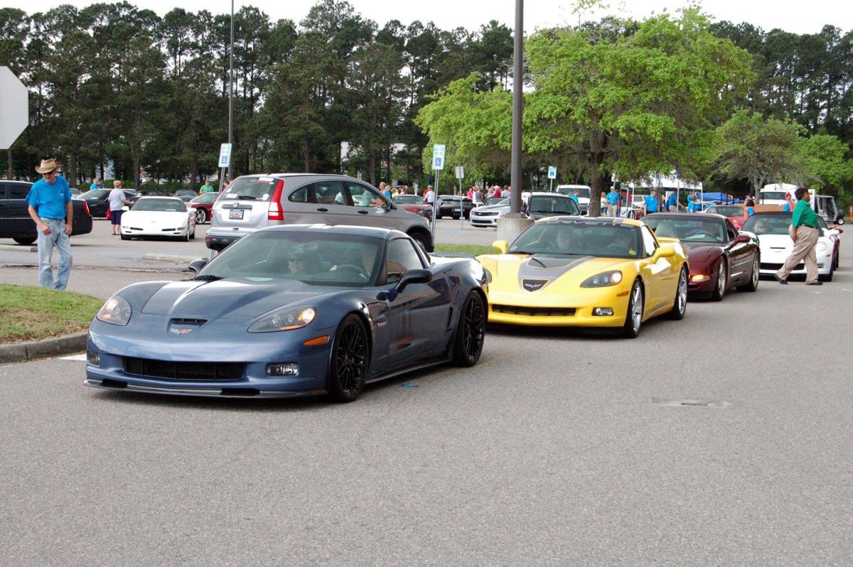 All-Corvette car show dodges raindrops, draws more than 130 models to Citadel Mall