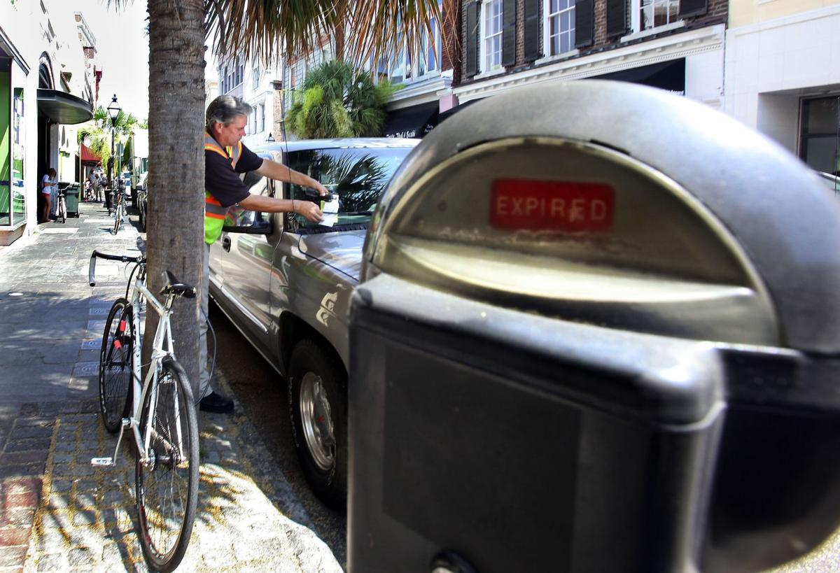 That's the ticket 15-mile hikes, gallons of water, angry folks part of parking enforcement officer's job