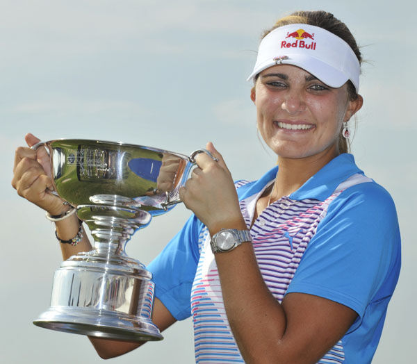 Teen Thompson captures historic victory in LPGA