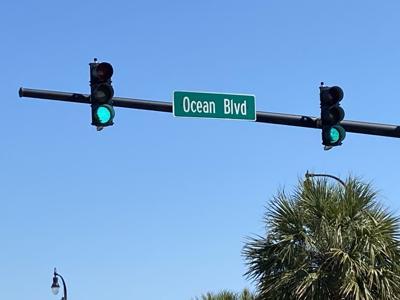 Ocean Boulevard in Myrtle Beach