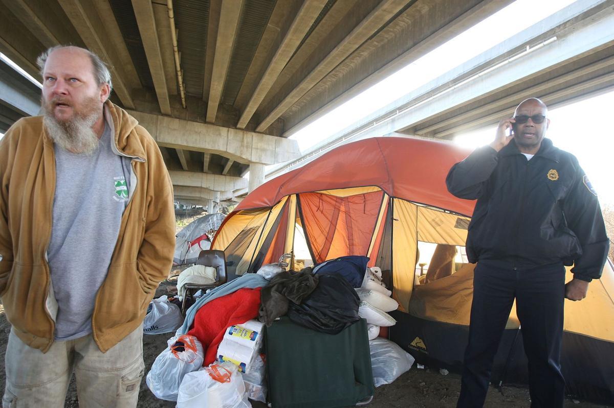 First phase of Tent City shutdown underway