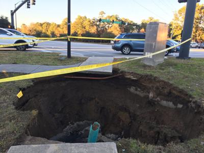 Mount Pleasant sinkhole