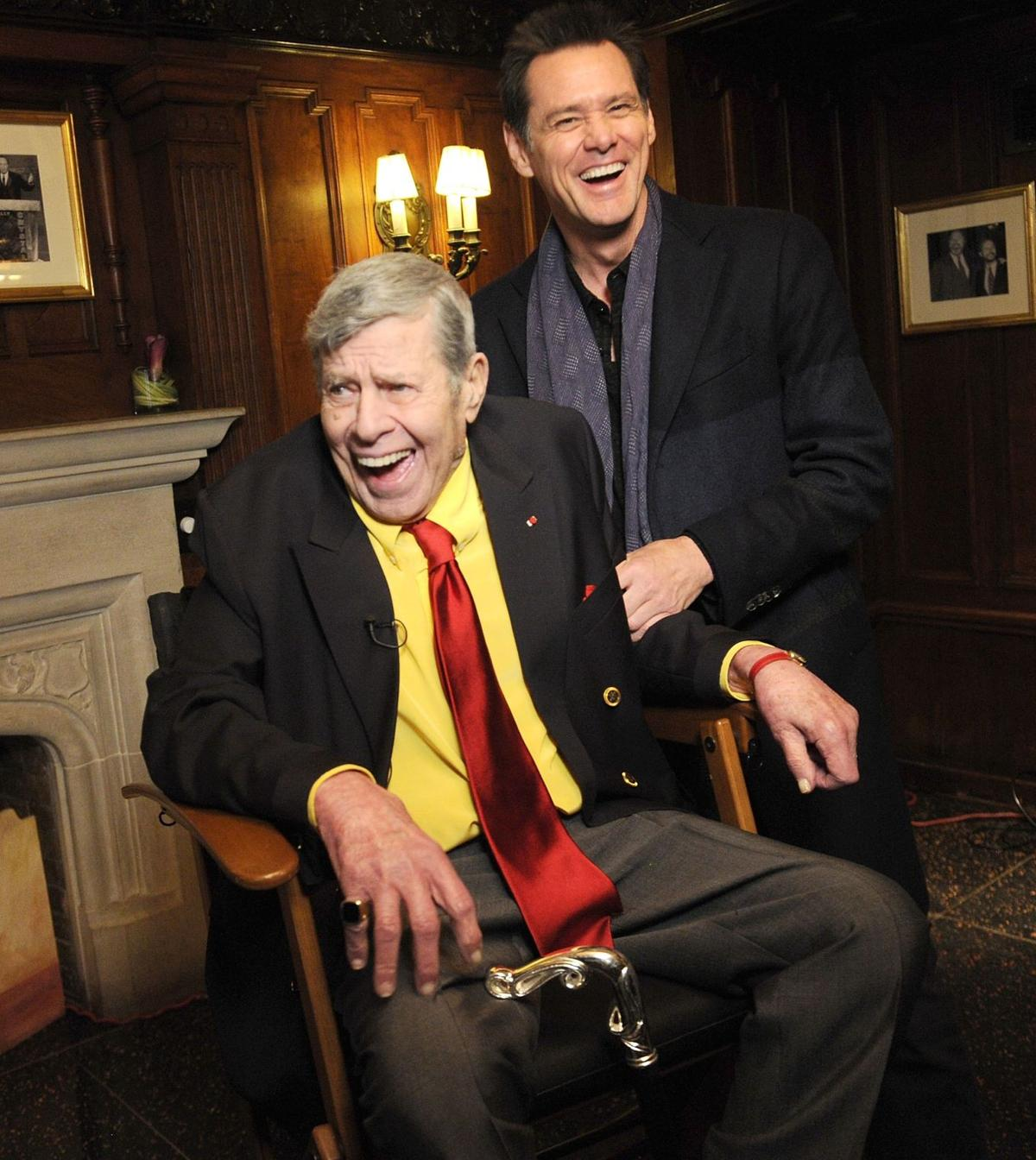 Jerry Lewis wants to live to be older than Burns