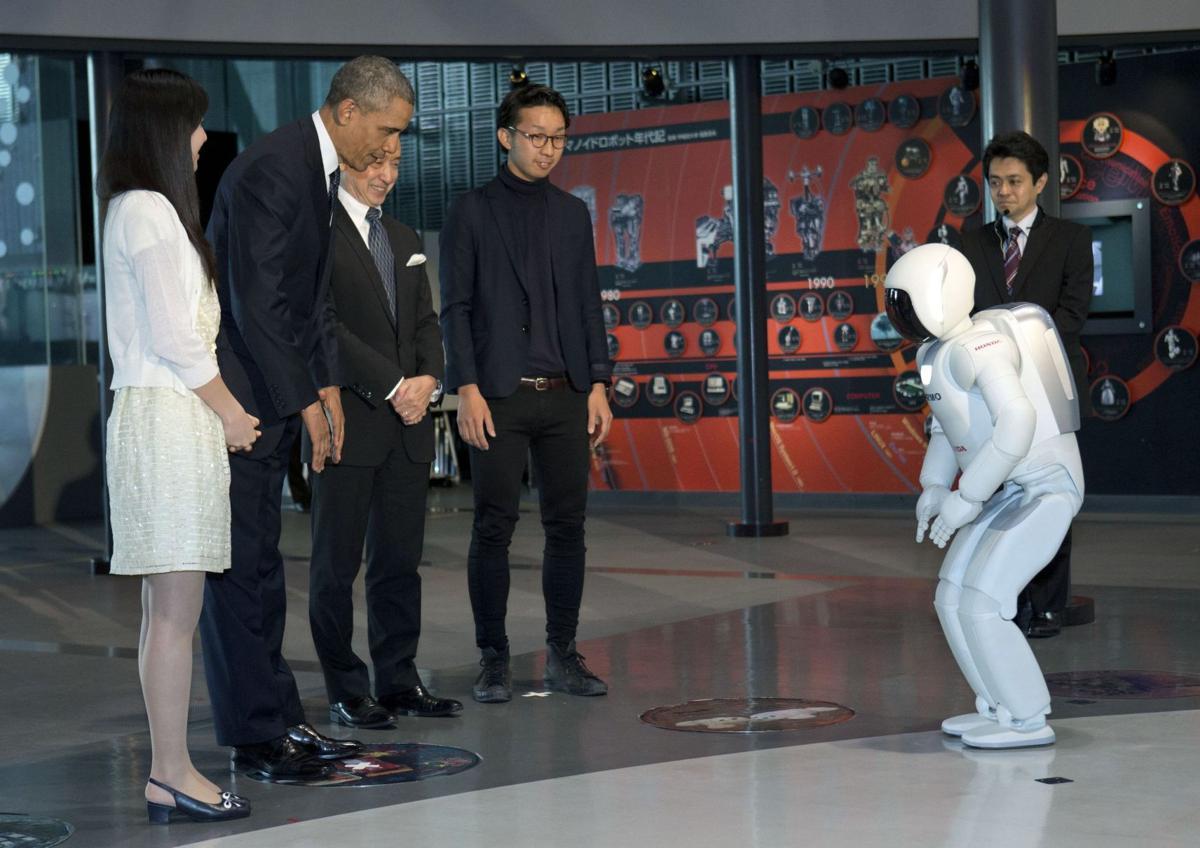Obama's robot summit
