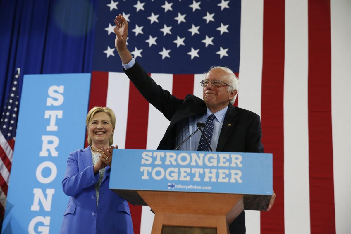 Clinton receives long-awaited endorsement from Sanders