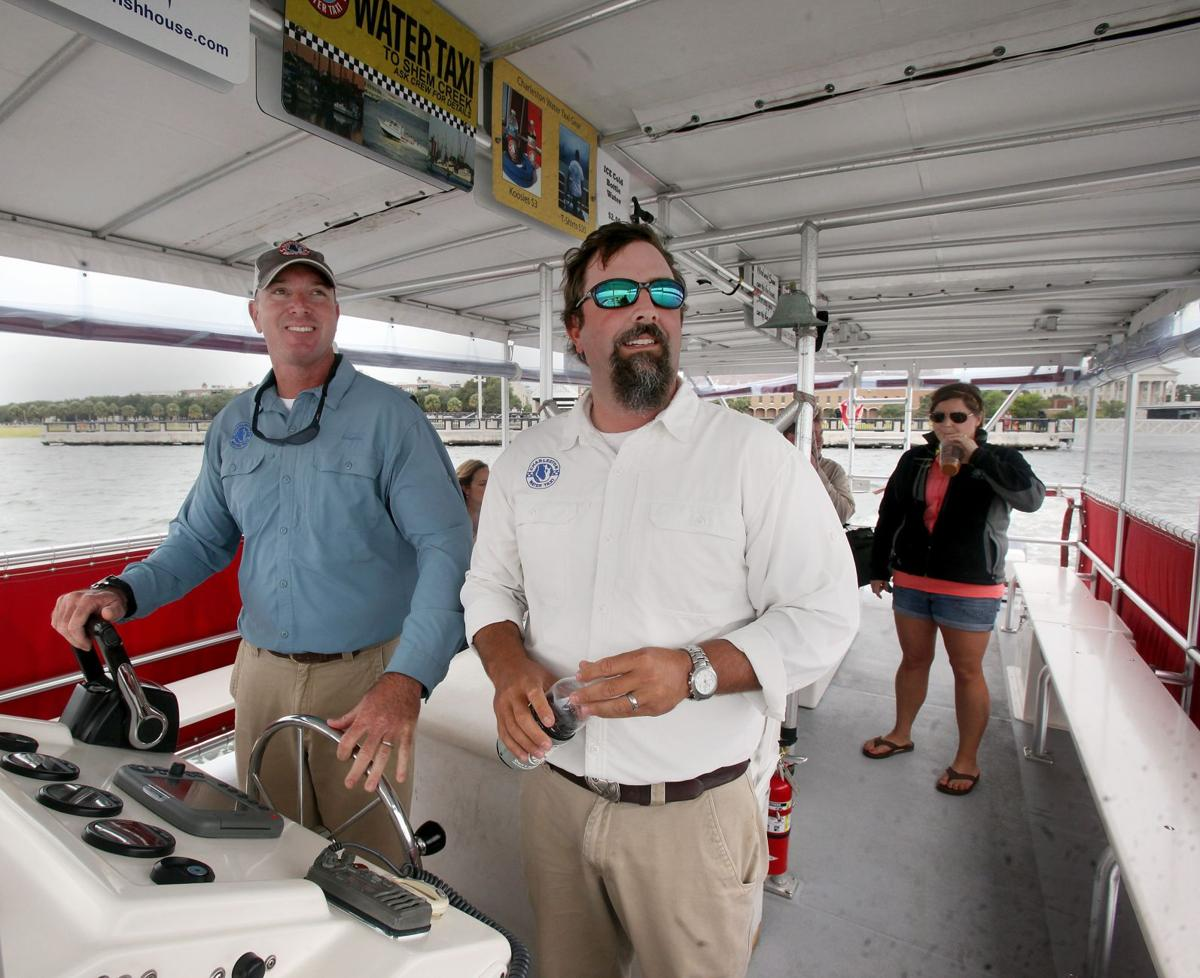 Catching a seaside shuttle Owners hoping for smooth waters to grow successful harbor taxi business in area