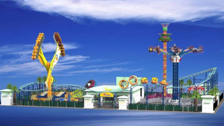 The Myrtle Beach Funplex is scheduled to open in the spring 2021