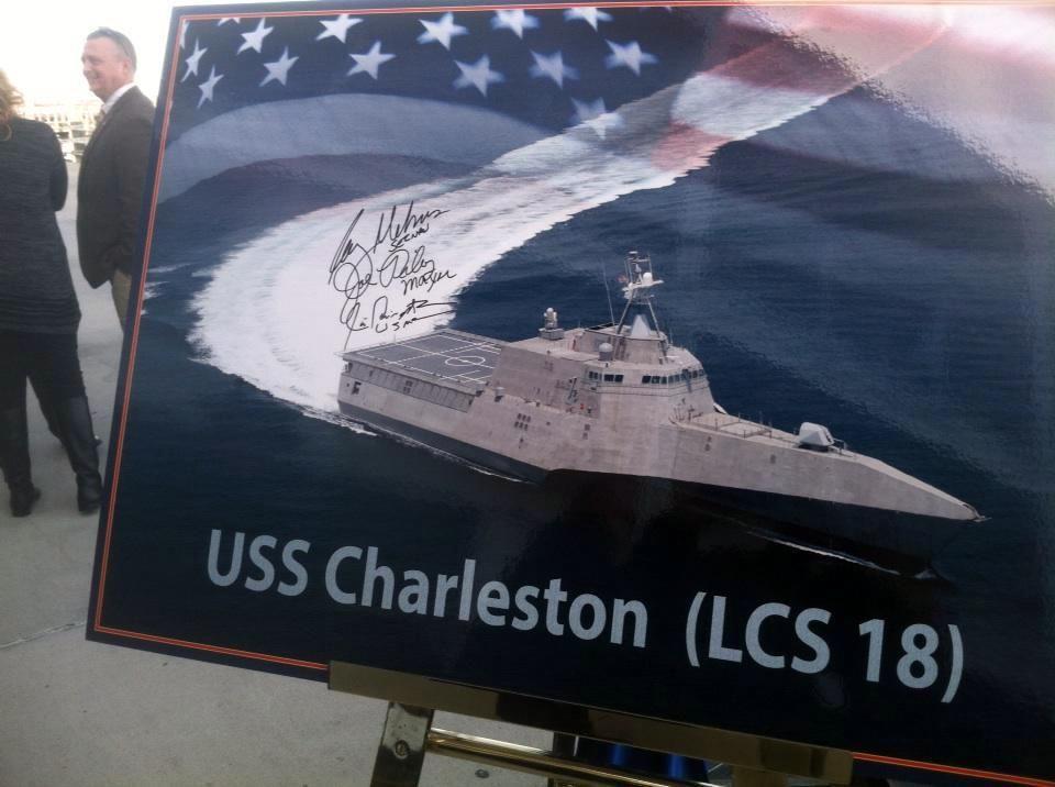 USS Charleston an easy choice, Navy Secretary says