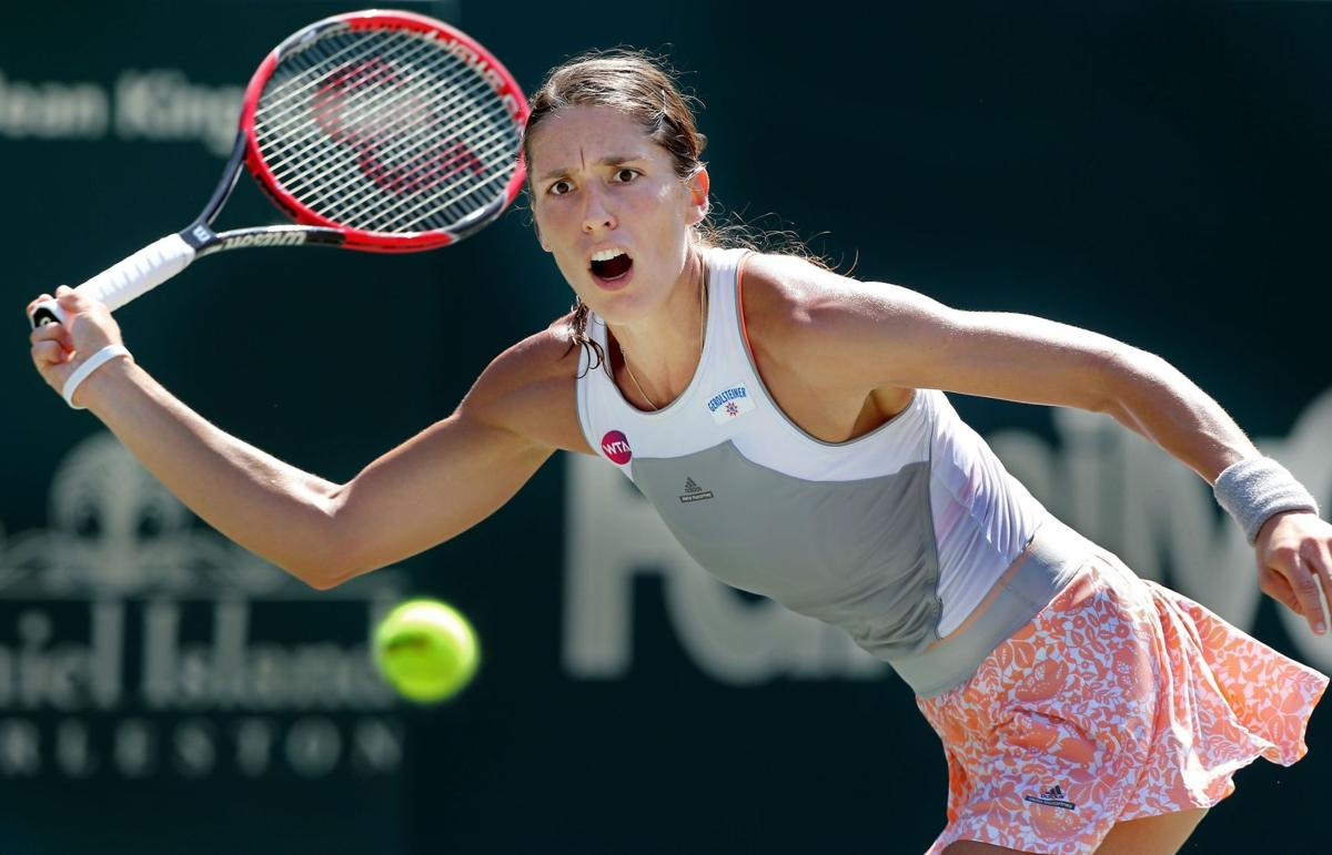 Petkovic climbs up from Down Under at Family Circle Cup; Jankovic withdraws
