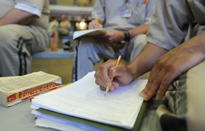 BC-SC--Writers Block, ADV26,1709<\n>SC prison holds writing program for prison inmates<\n>FOR RELEASE MONDAY, MAY 26, 2014, AT 12:01 A.M. EDT.<\n>Adv26