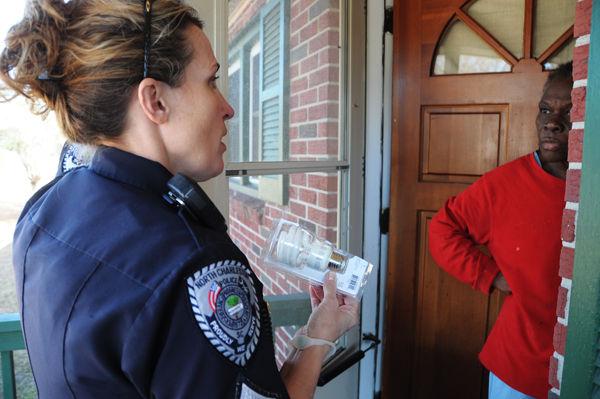 Violent crime down in North Charleston