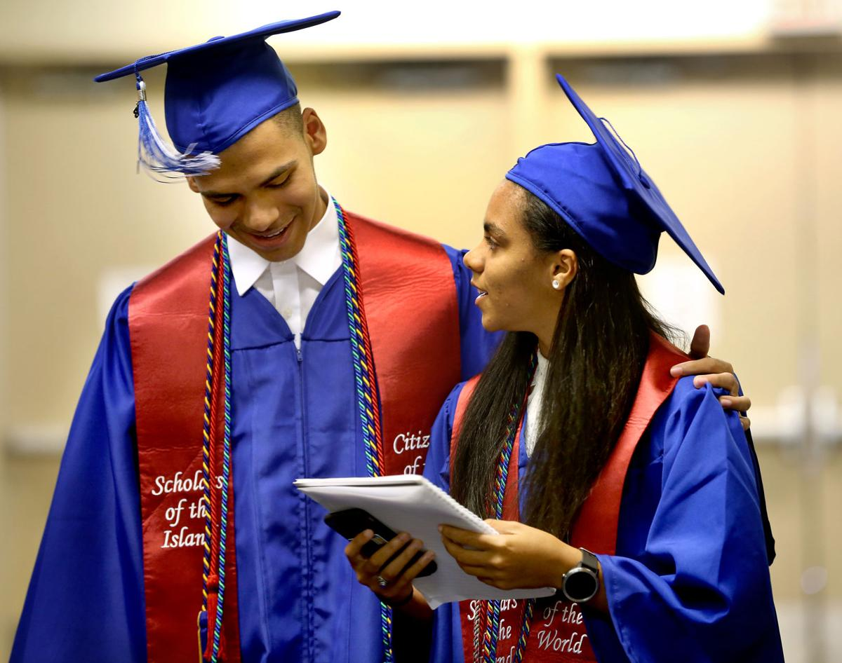 Brother and sister finish first and third in graduating class at St ...