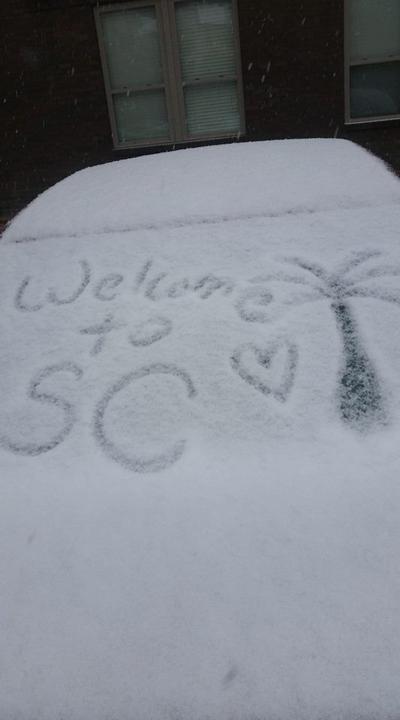 Snow in Summerville