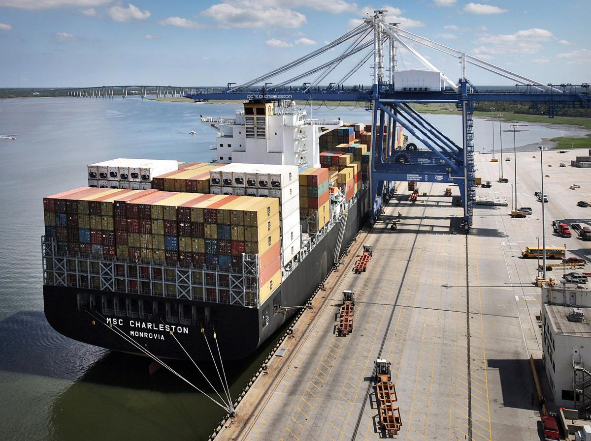 Container ship MSC Charleston collides with smaller vessel in Va. channel