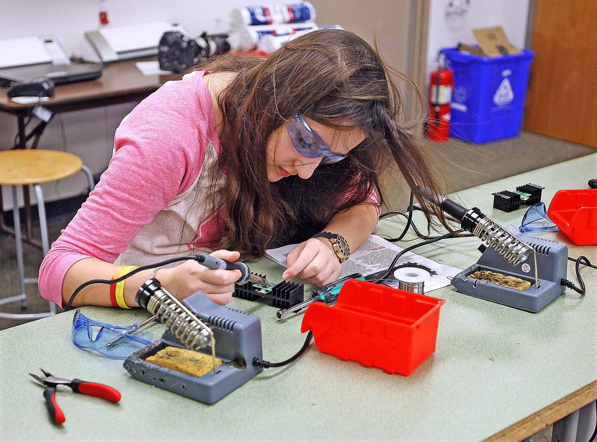 Laing Middle School recognized as one of nation's top STEM schools