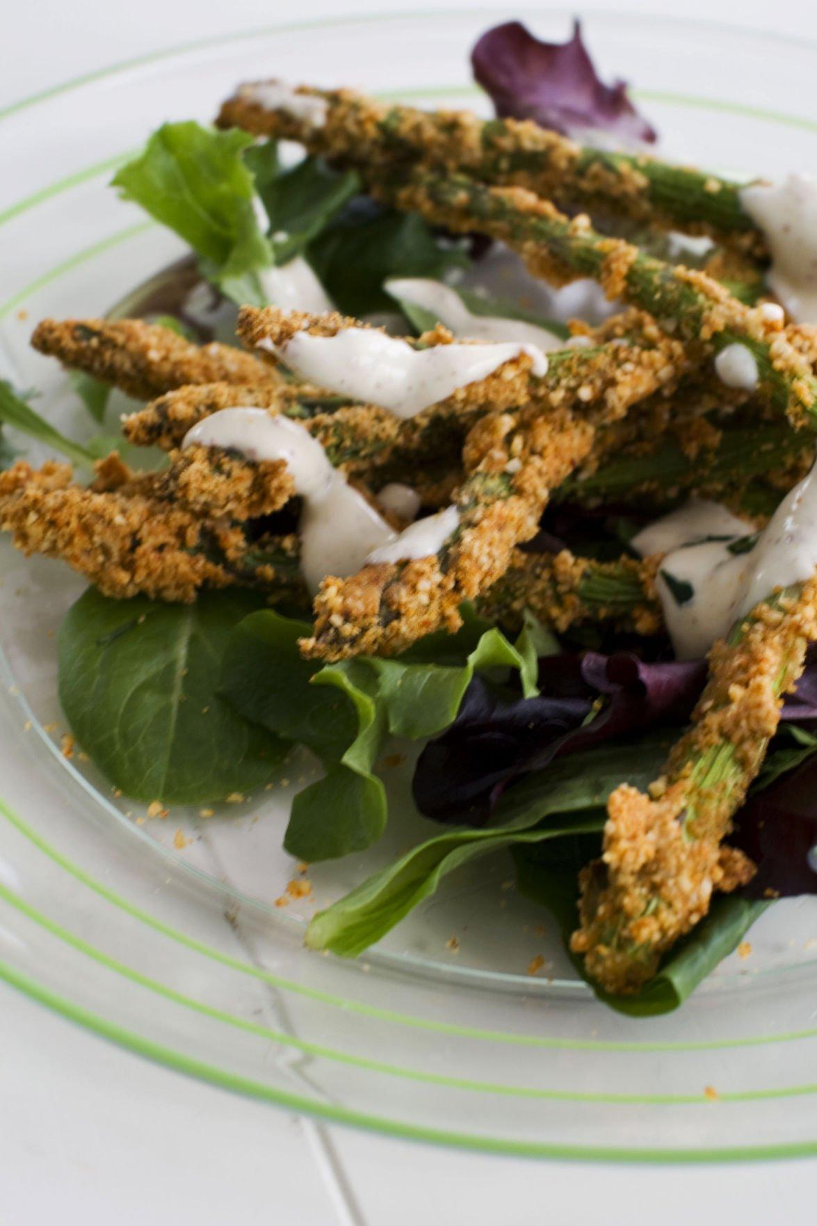 Asparagus goes 'fried'