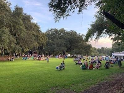 Two April Toast! Under the Oaks events at Johns Island County Park