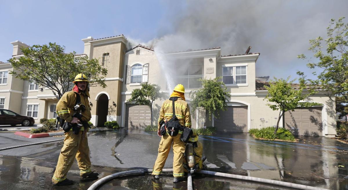 Crews make gains on worst of San Diego fires