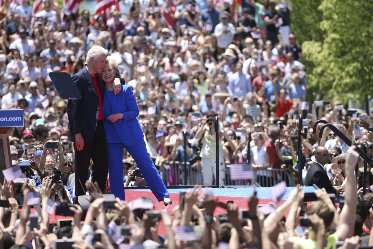 A look at Hillary Clinton's 2007-2014 federal tax returns