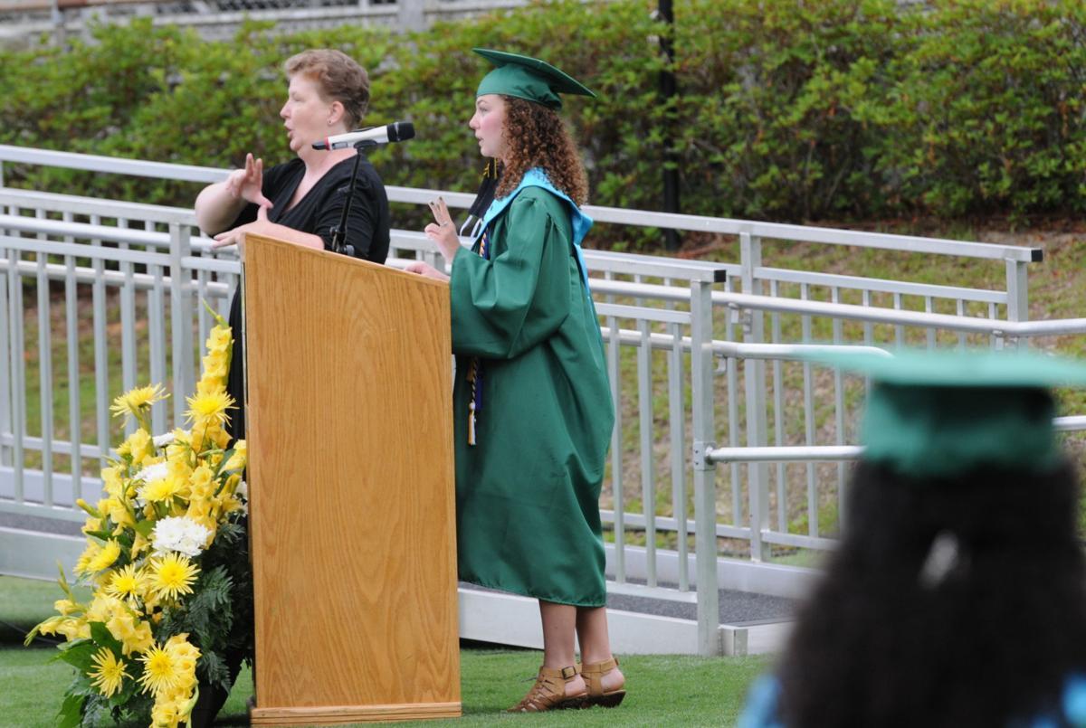 Summerville High School 2020 graduation