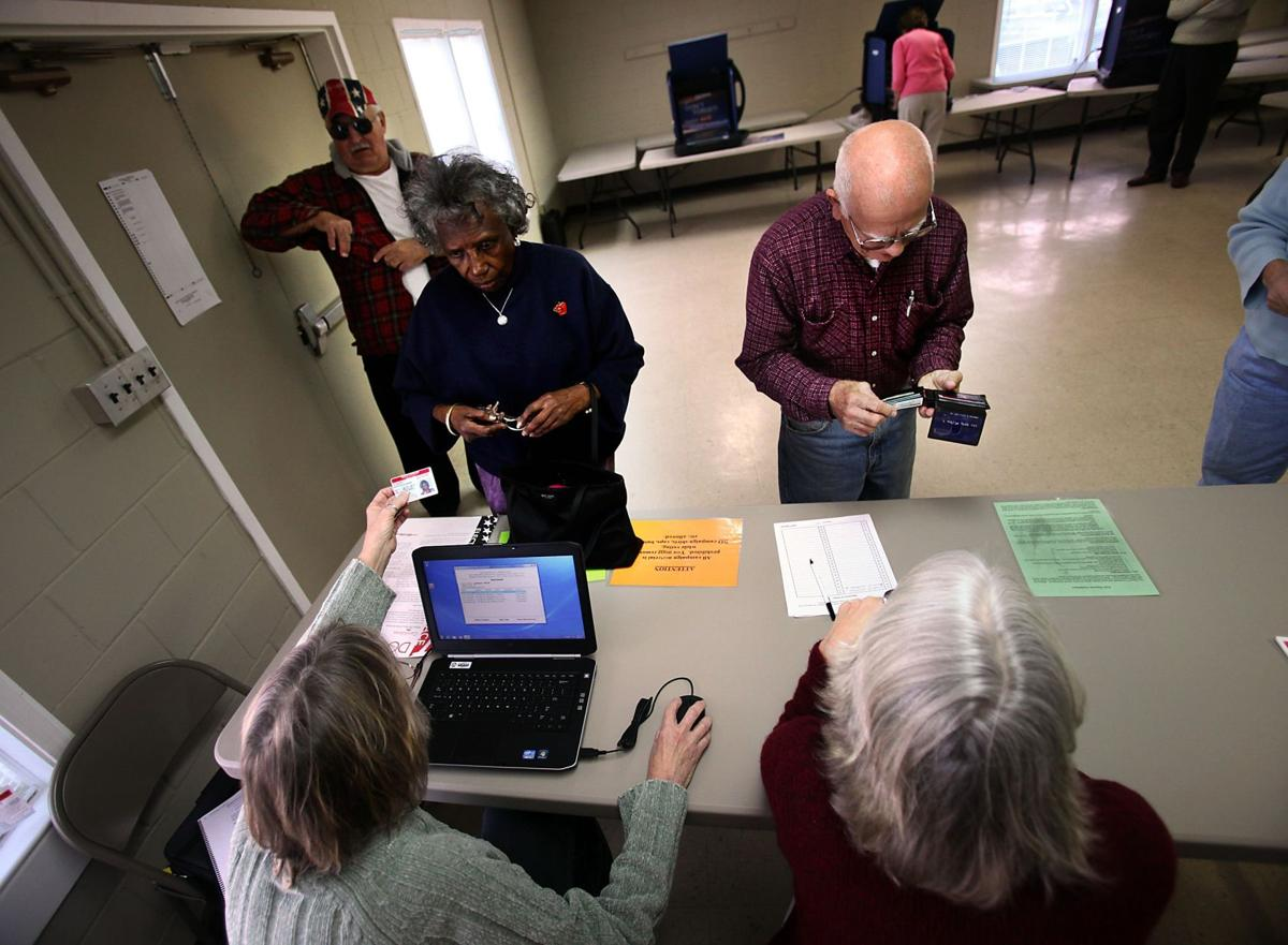 Few area voters seeking photo ID Chas. Co., 142; Berkeley, 3; Dorchester, 3
