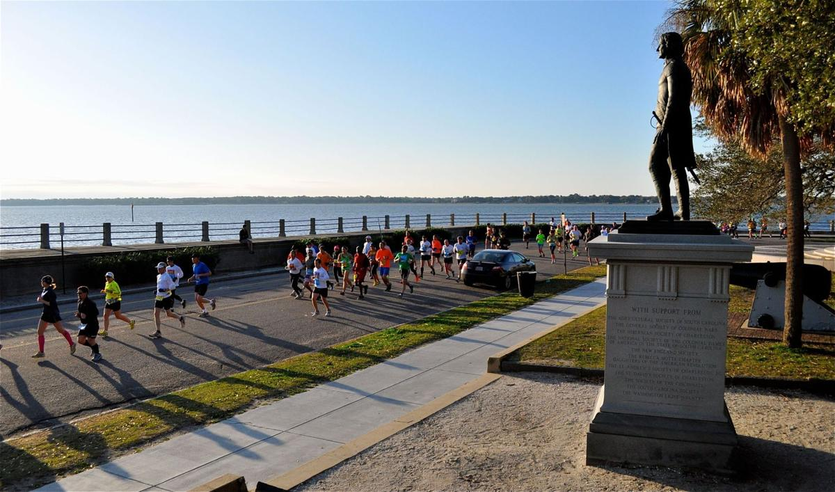 Charleston Marathon Last year's weather, race course challenges for this year's event