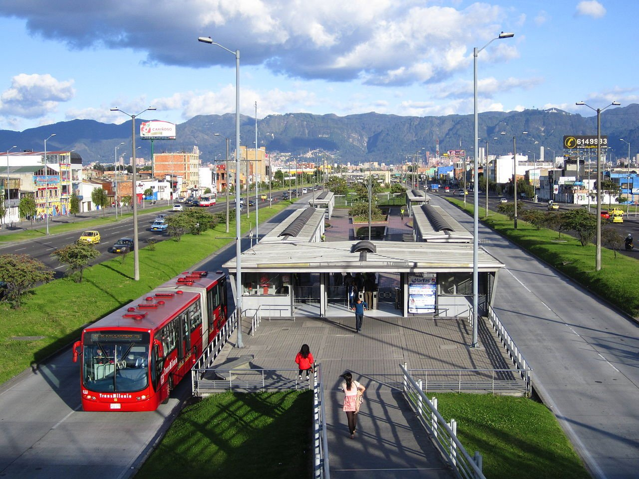 development project proposal template%0A BRT in Bogota  Colombia