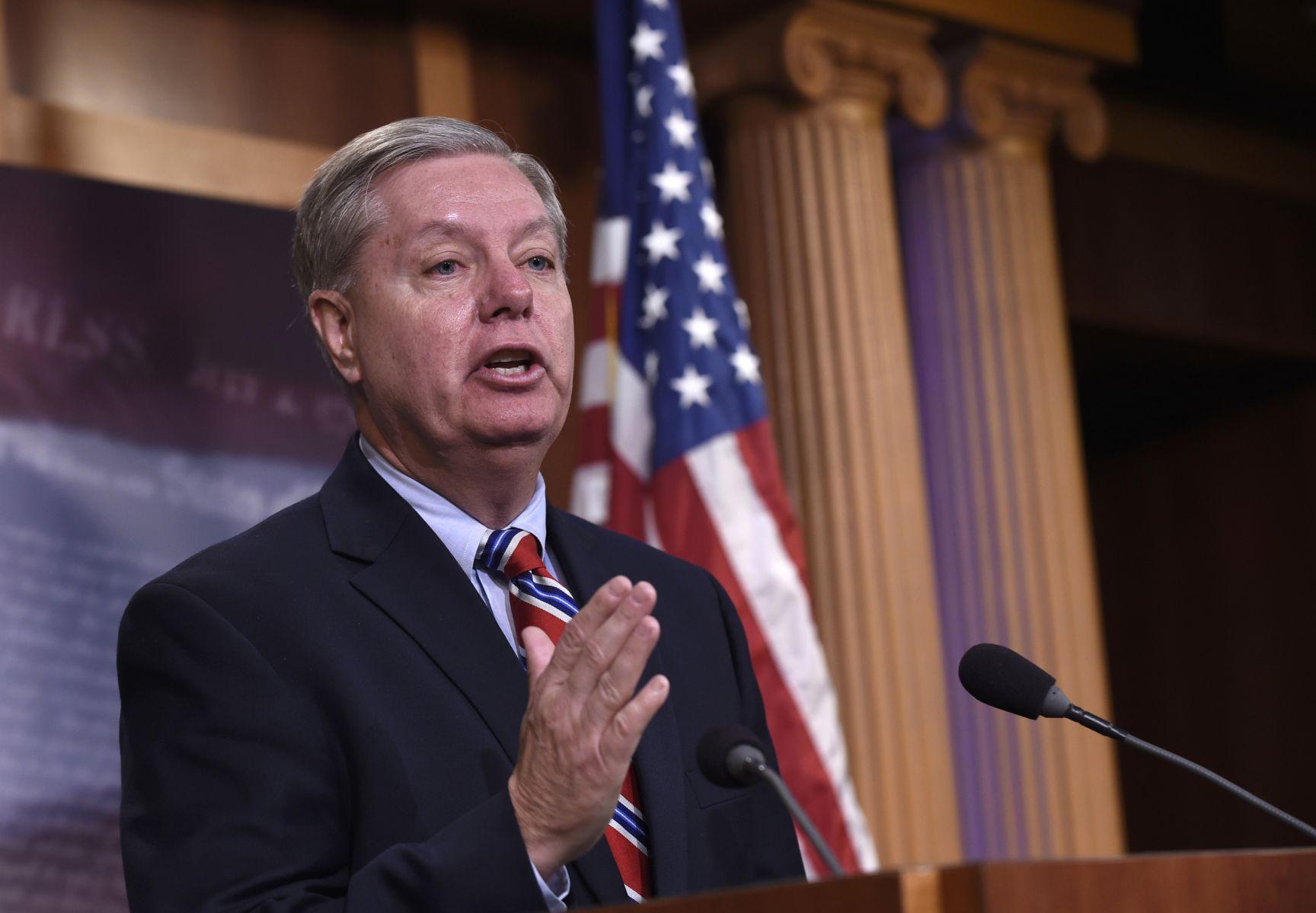 In crusade to punish Russia Sen Lindsey