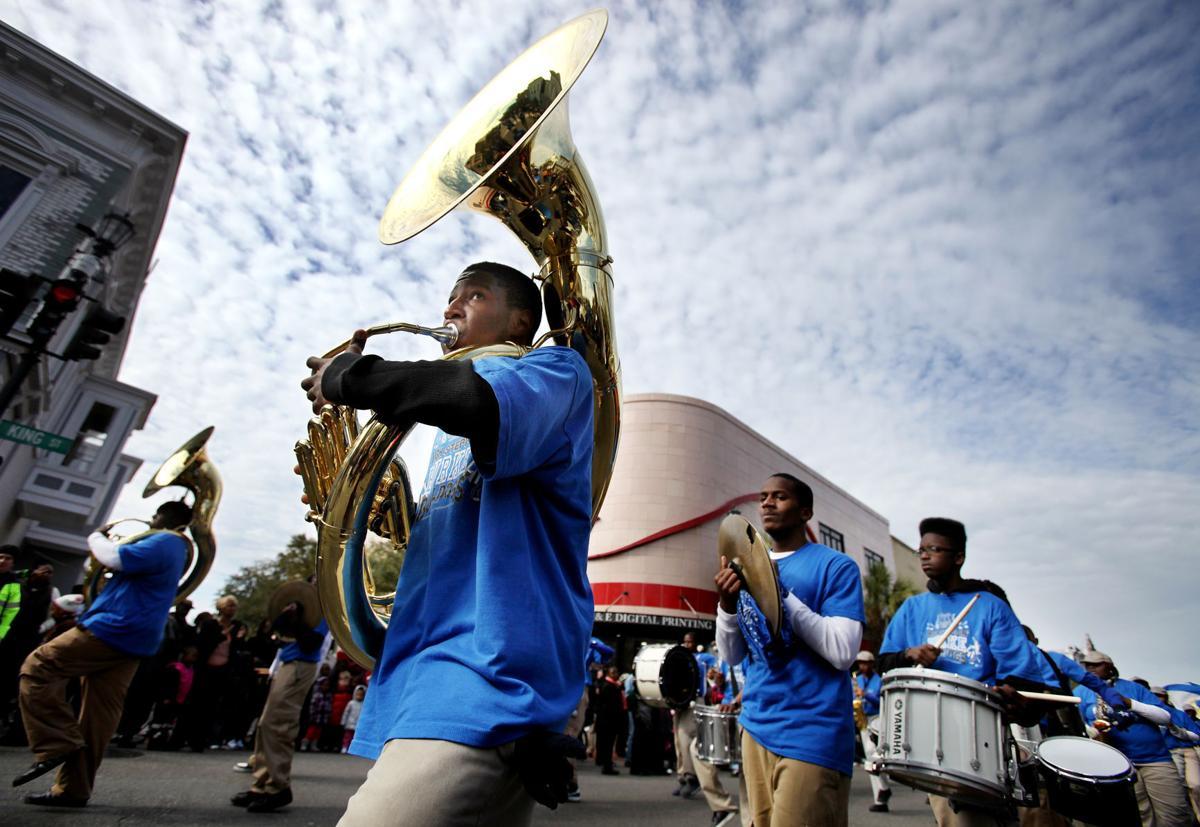 MLK parade band