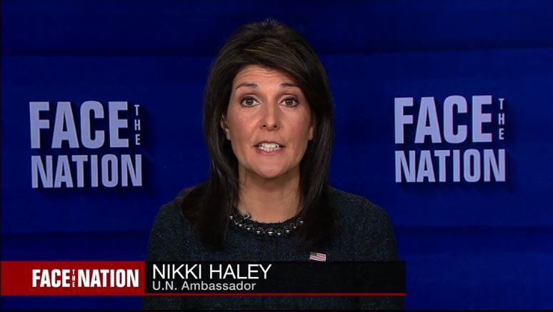 Nikki Haley Face the Nation