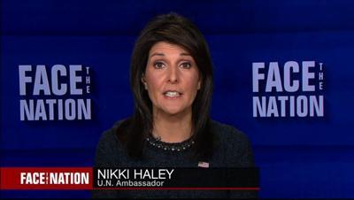 Nikki Haley Face the Nation