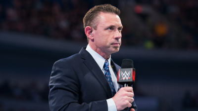 WWE announcer Michael Cole