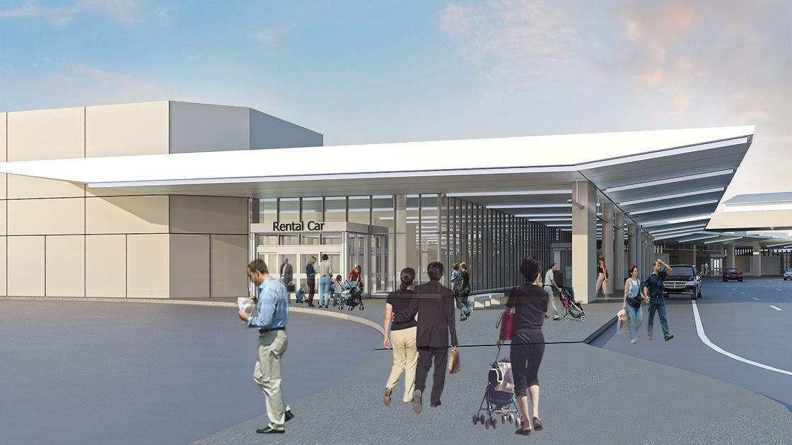 Airport breaks ground on $162 million makeover