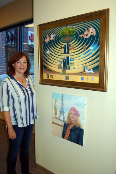 Exhibit at Century 21 Properties Plus pitched as avenue for local artists to get their works out