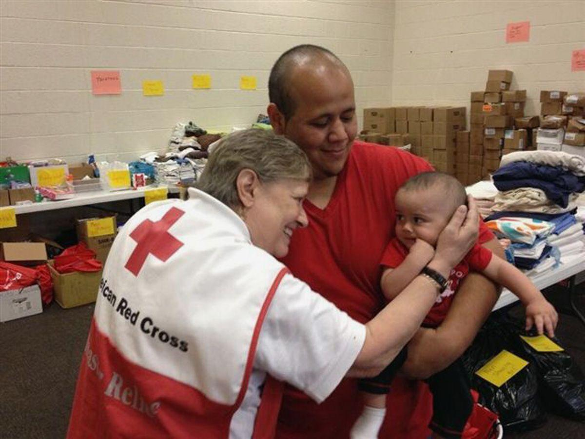 Helping tornado victims