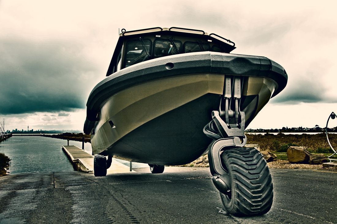 Game Changer Sealegs unveils military grade amphibious craft with cutting-edge land, sea technology