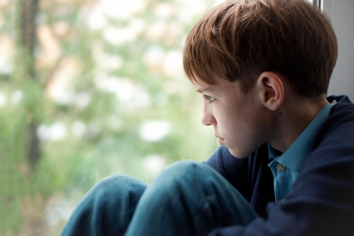 LCP Health series 3 boy at window