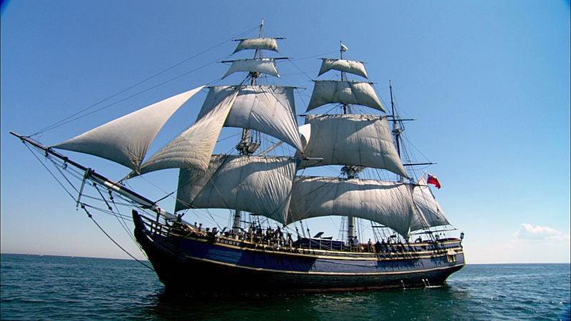 HMS Bounty tall ship to visit Charleston Maritime Center next week