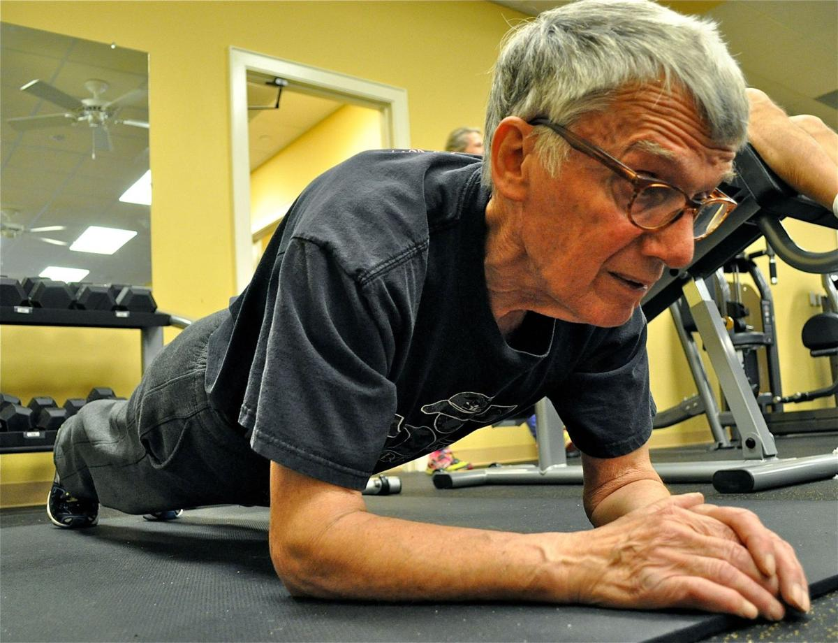 Mixing strength, cardio at 81 to keep moving