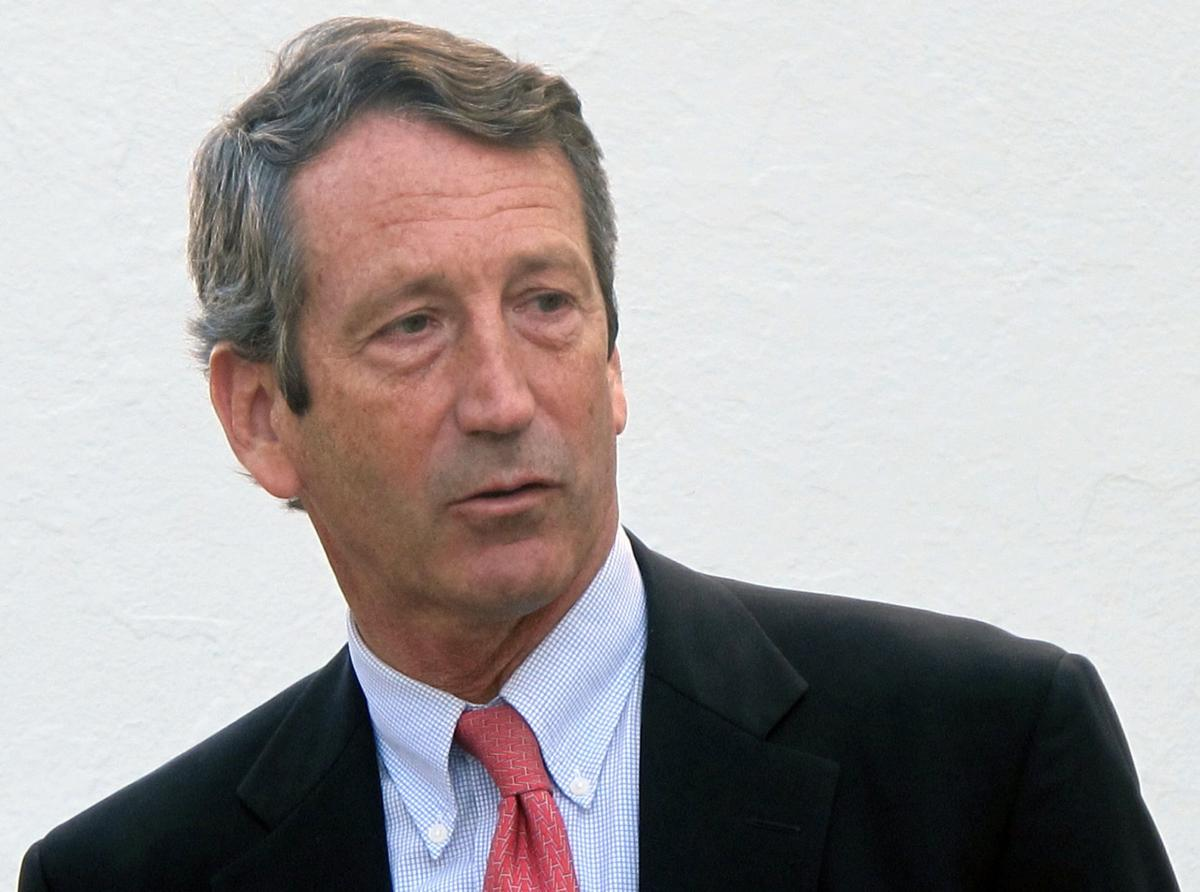 Mark Sanford ignores minor annoyance; world comes to an end