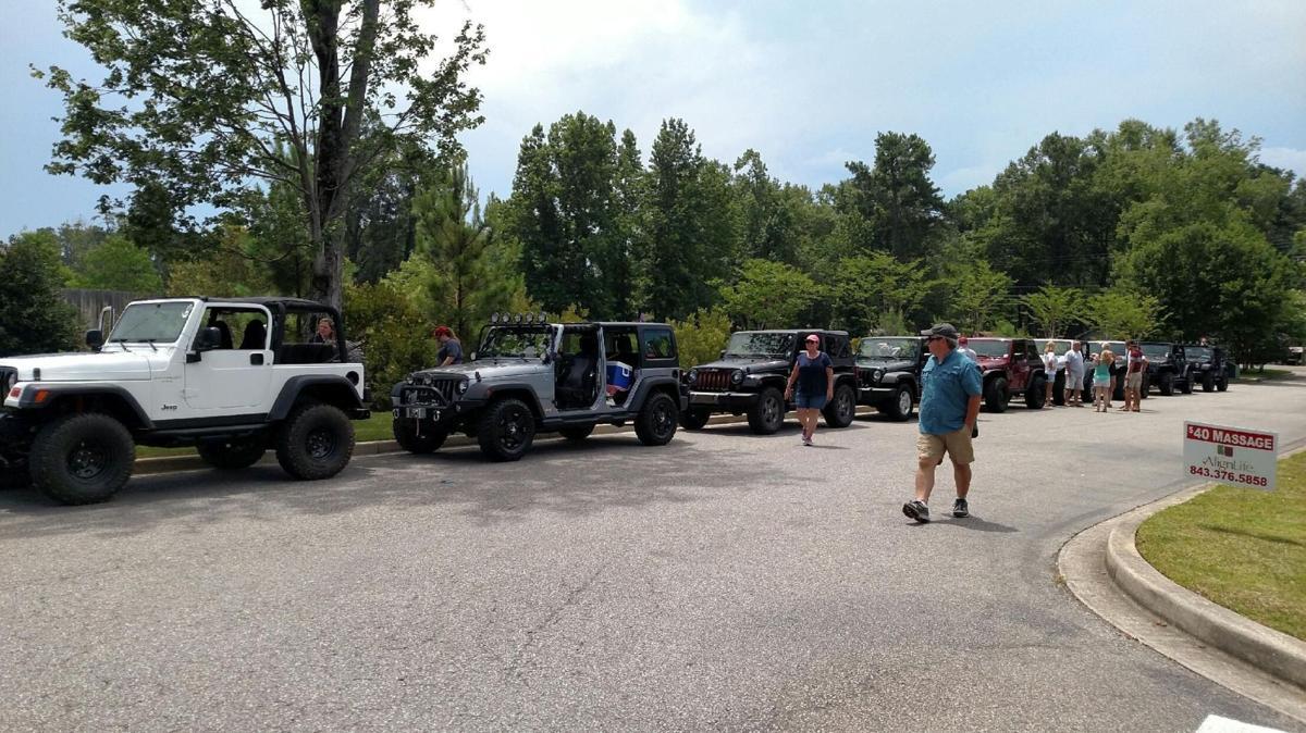 Jeep of faith Summerville organization focuses on faith, charity missions