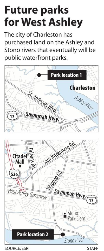 City purchases waterfront land for West Ashley parks