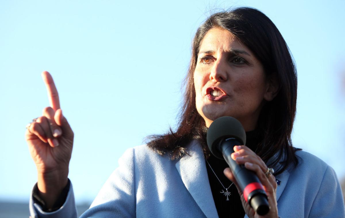Democrats criticize Gov Haley for state plane use