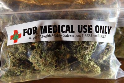 Medical marijuana bag