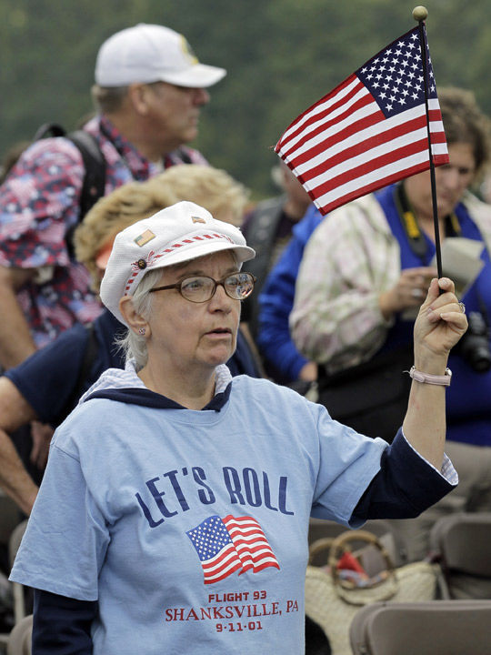 Bravery on Flight 93 lauded