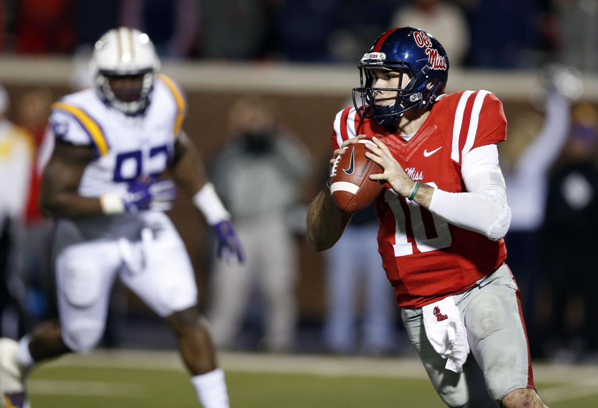 No hard feelings for Ole Miss QB Chad Kelly on 'immature' times at Clemson